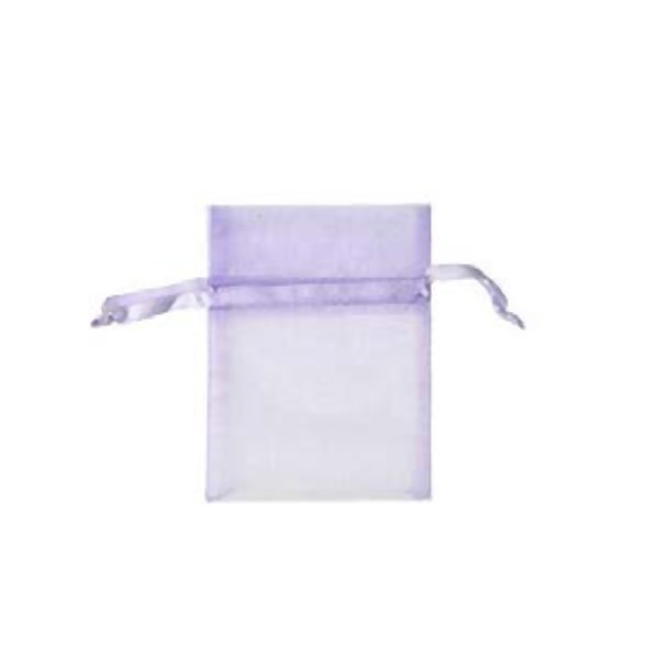 Торбичка подаръчна шифон, 15 X 24 cm Торбичка подаръчна шифон, 9 x 12 cm, люлякова
