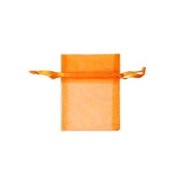 Торбичка подаръчна шифон, 15 X 24 cm Торбичка подаръчна шифон, 9 x 12 cm, оранжева