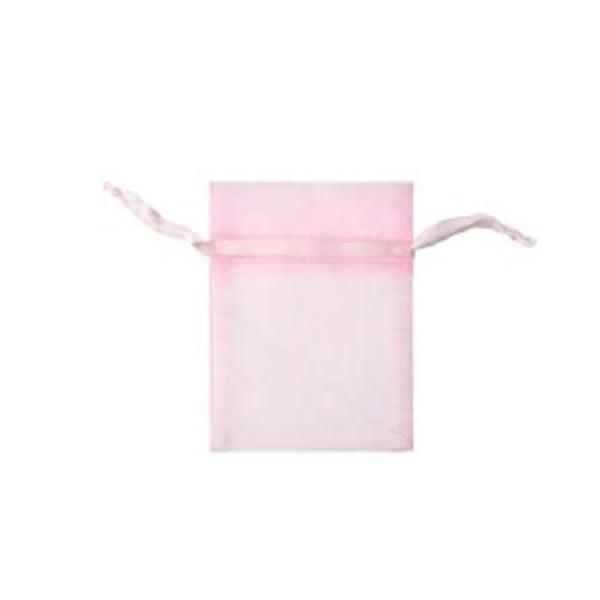 Торбичка подаръчна шифон, 15 X 24 cm Торбичка подаръчна шифон, 9 x 12 cm, роза