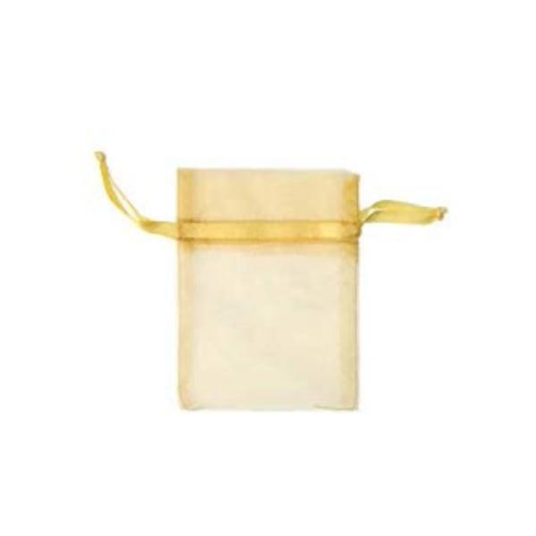 Торбичка подаръчна шифон, 15 X 24 cm Торбичка подаръчна шифон, 9 x 12 cm, слънчево жълта