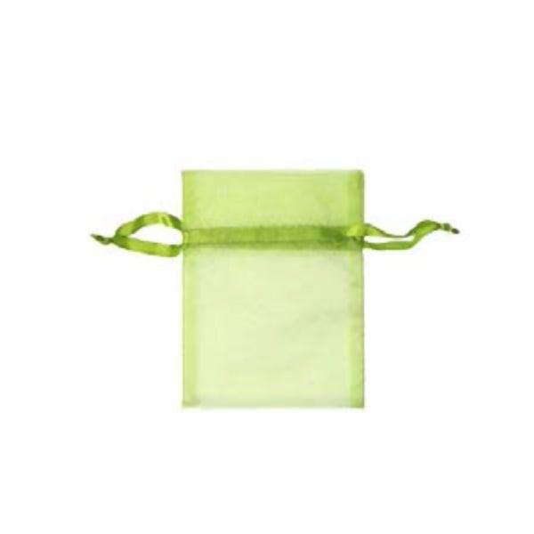 Торбичка подаръчна шифон, 15 X 24 cm Торбичка подаръчна шифон, 9 x 12 cm, светло зелена