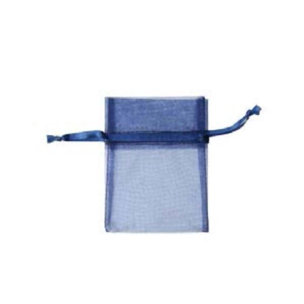 Торбичка подаръчна шифон, 15 X 24 cm Торбичка подаръчна шифон, 9 x 12 cm, тъмно синя