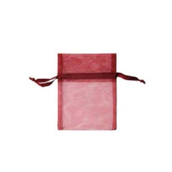 Торбичка подаръчна шифон, 15 X 24 cm Торбичка подаръчна шифон, 9 x 12 cm, винено червена