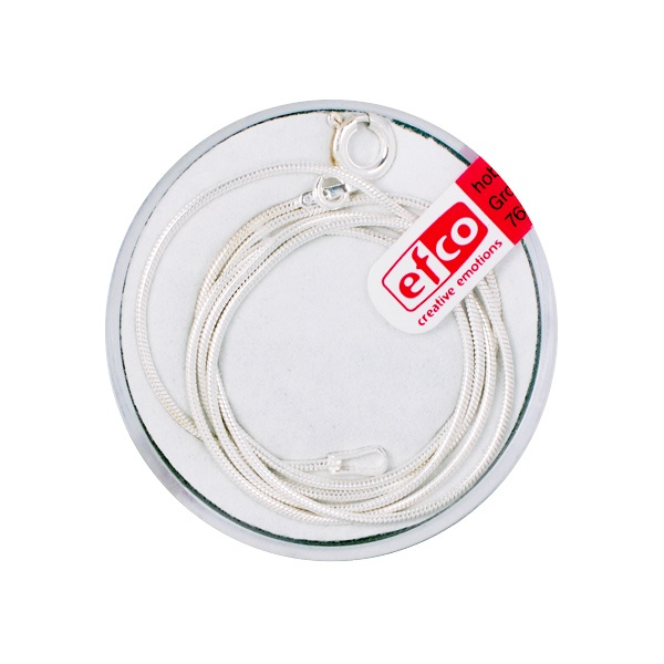 Верижка, ф 1,1 mm / 45 cm, сребро 925