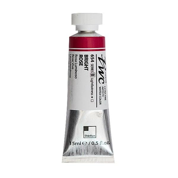 Водна боя Profesional Water Color, 15 ml Водна боя PWC, 15 ml, Bright Rose