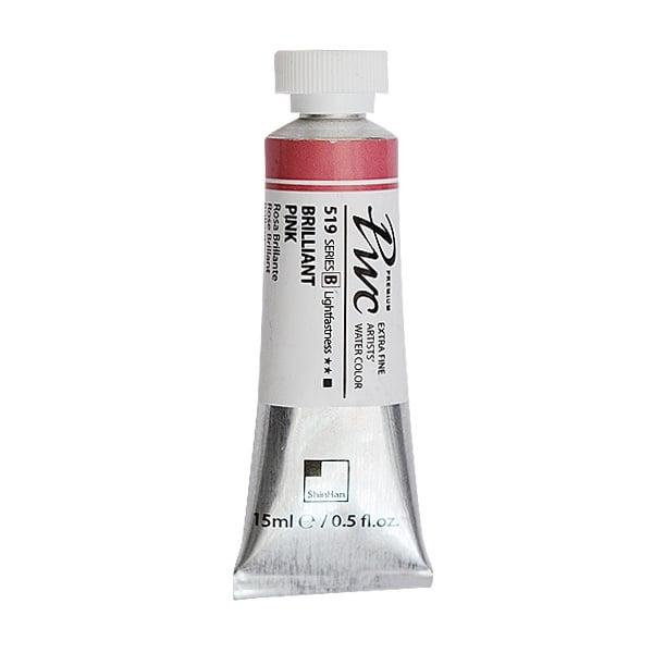 Водна боя Profesional Water Color, 15 ml Водна боя PWC, 15 ml, Brilliant Pink