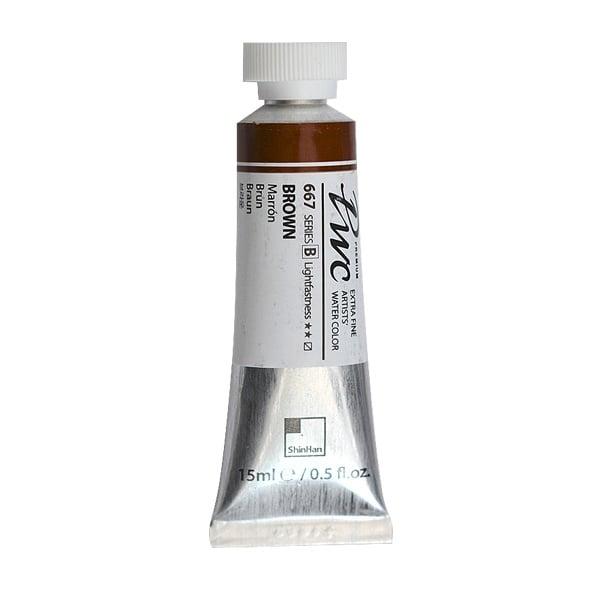 Водна боя Profesional Water Color, 15 ml Водна боя PWC, 15 ml, Brown
