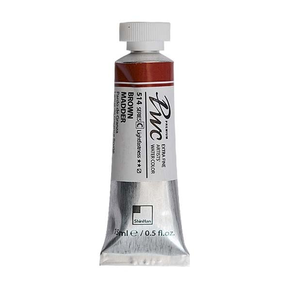 Водна боя Profesional Water Color, 15 ml Водна боя PWC, 15 ml, Brown Madder