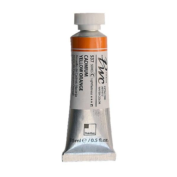 Водна боя Profesional Water Color, 15 ml Водна боя PWC, 15 ml, Cadmium Yellow Orange