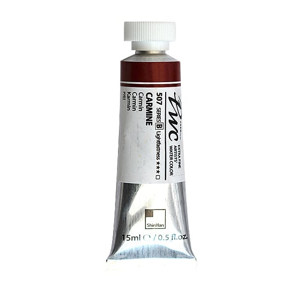 Водна боя Profesional Water Color, 15 ml Водна боя PWC, 15 ml, Carmine