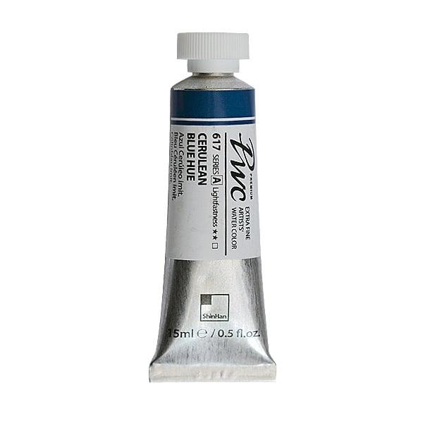 Водна боя Profesional Water Color, 15 ml Водна боя PWC, 15 ml, Cerulean Blue Hue