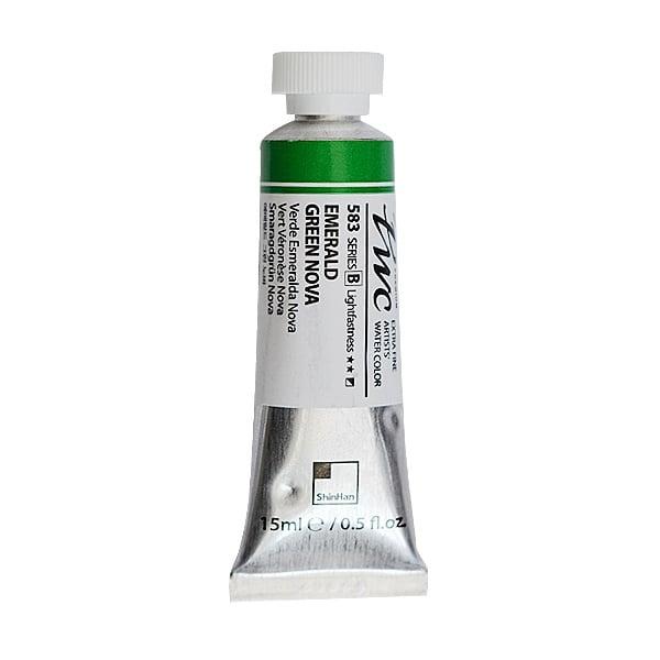 Водна боя Profesional Water Color, 15 ml Водна боя PWC, 15 ml, Emerald Green Nova