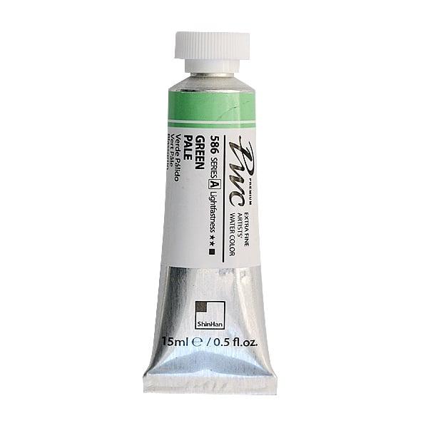 Водна боя Profesional Water Color, 15 ml Водна боя PWC, 15 ml, Green Pale
