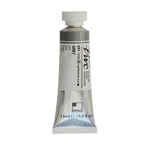 Водна боя Profesional Water Color, 15 ml Водна боя PWC, 15 ml, Grey