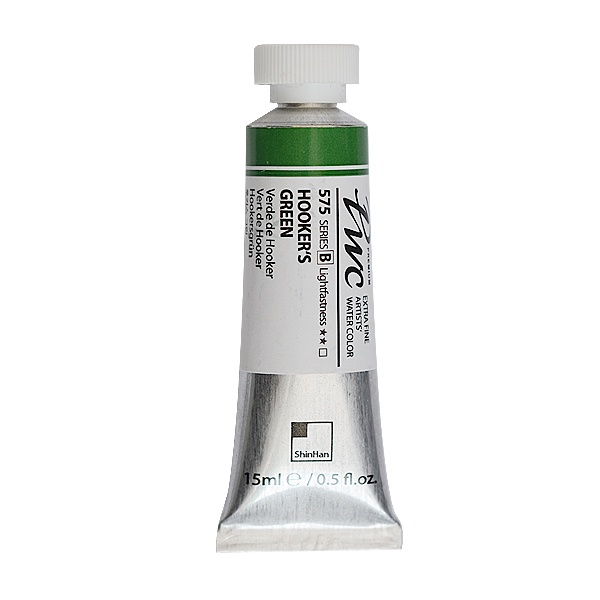 Водна боя Profesional Water Color, 15 ml Водна боя PWC, 15 ml, Hooker's Green