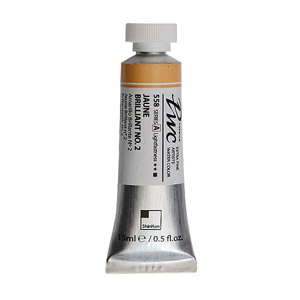 Водна боя Profesional Water Color, 15 ml Водна боя PWC, 15 ml, Jaune Brilliant No.2