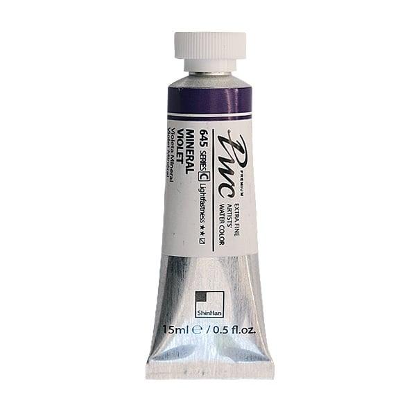 Водна боя Profesional Water Color, 15 ml Водна боя PWC, 15 ml, Mineral Violet