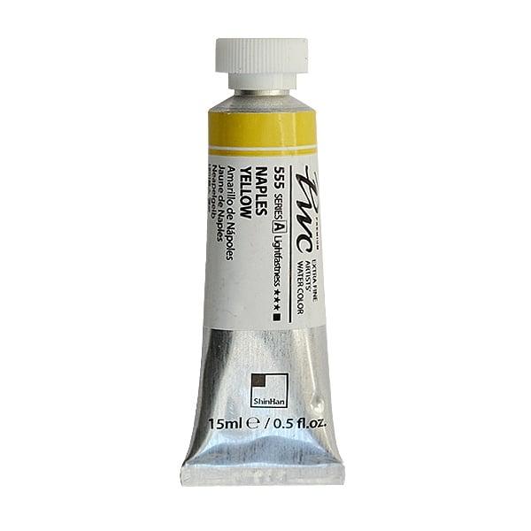 Водна боя Profesional Water Color, 15 ml Водна боя PWC, 15 ml, Naples Yellow