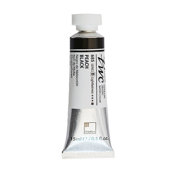 Водна боя Profesional Water Color, 15 ml Водна боя PWC, 15 ml, Peach Black