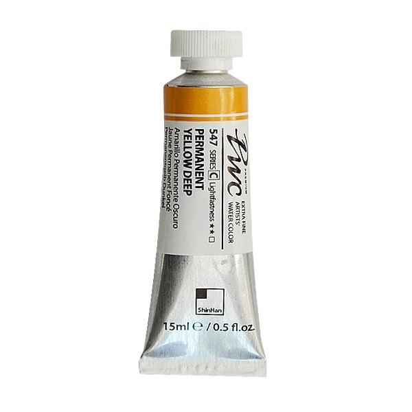 Водна боя Profesional Water Color, 15 ml Водна боя PWC, 15 ml, Permanent Yellow Deep