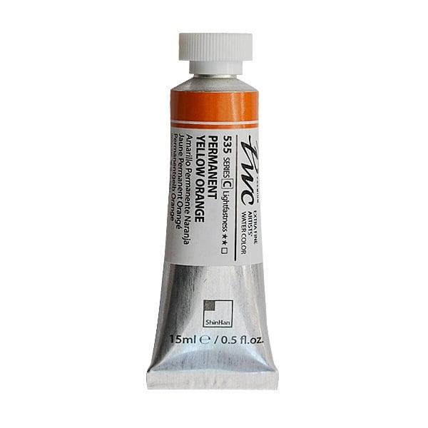 Водна боя Profesional Water Color, 15 ml Водна боя PWC, 15 ml, Permanent Yellow Orange