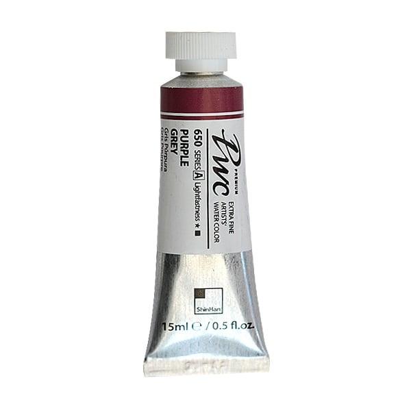 Водна боя Profesional Water Color, 15 ml Водна боя PWC, 15 ml, Purple Grey