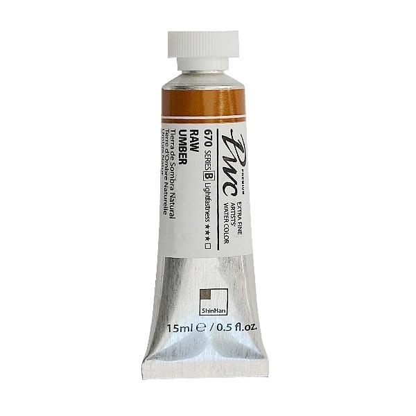 Водна боя Profesional Water Color, 15 ml Водна боя PWC, 15 ml, Raw Umber