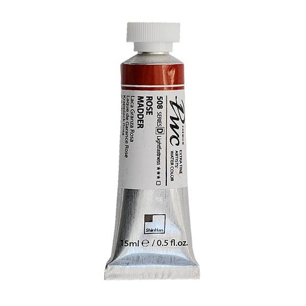 Водна боя Profesional Water Color, 15 ml Водна боя PWC, 15 ml, Rose Madder