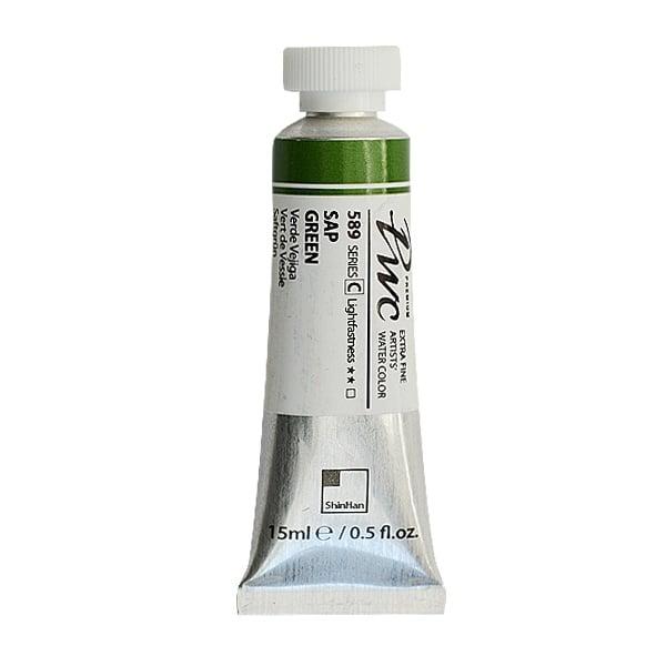 Водна боя Profesional Water Color, 15 ml Водна боя PWC, 15 ml, Sap Green