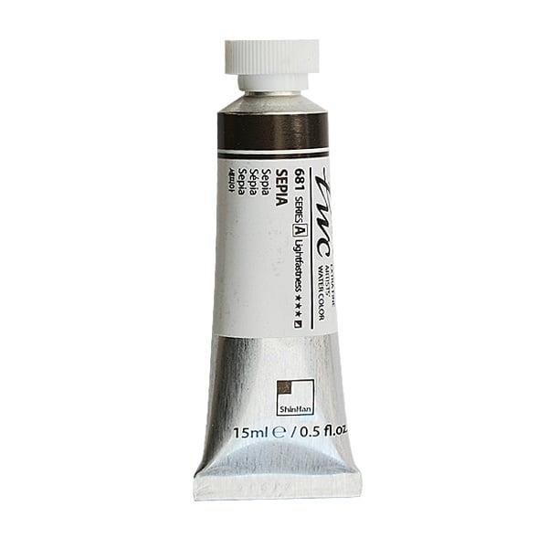 Водна боя Profesional Water Color, 15 ml Водна боя PWC, 15 ml, Sepia