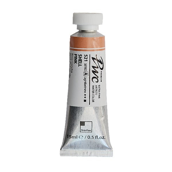 Водна боя Profesional Water Color, 15 ml Водна боя PWC, 15 ml, Shell Pink
