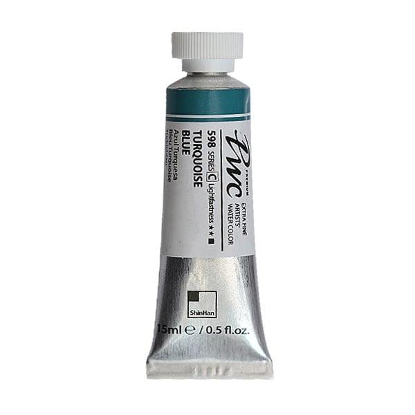 Водна боя Profesional Water Color, 15 ml Водна боя PWC, 15 ml, Turquoise Blue