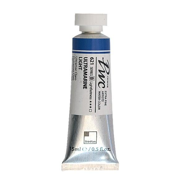 Водна боя Profesional Water Color, 15 ml Водна боя PWC, 15 ml, Ultramarine Light