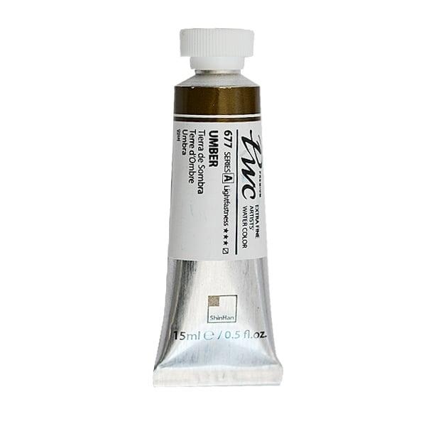 Водна боя Profesional Water Color, 15 ml Водна боя PWC, 15 ml, Umber