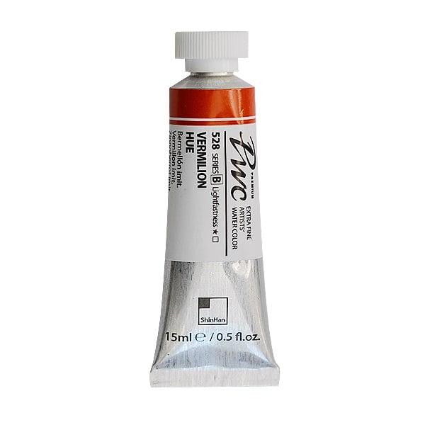 Водна боя Profesional Water Color, 15 ml Водна боя PWC, 15 ml, Vermilion Hue