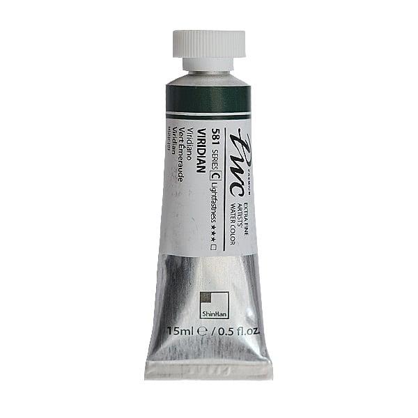 Водна боя Profesional Water Color, 15 ml Водна боя PWC, 15 ml, Viridian