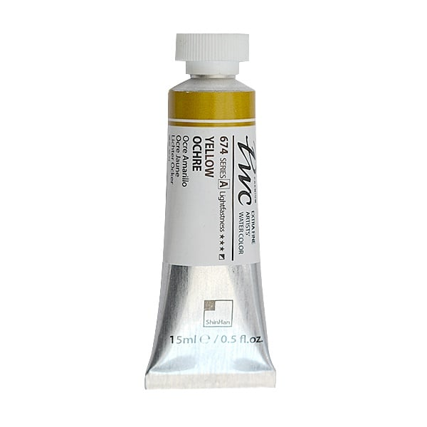 Водна боя Profesional Water Color, 15 ml Водна боя PWC, 15 ml, Yellow Ochre
