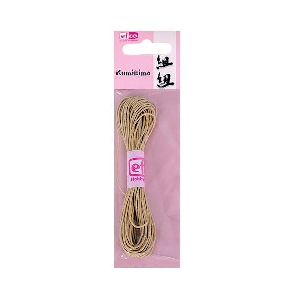 Восъчно памучен шнур, ф 1 mm / 6 m Восъчно памучен шнур, ф 1 mm / 6 m, бежов