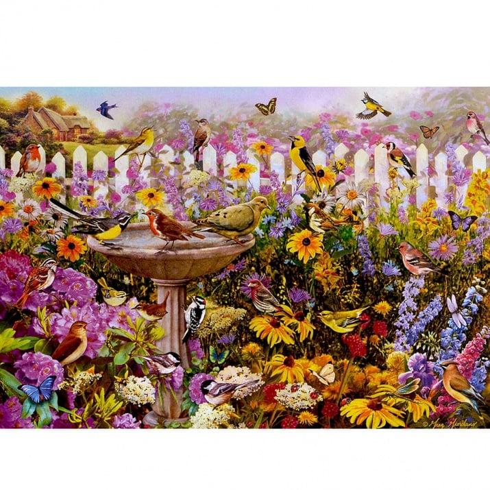 Пъзел художествен WENTWORTH,Bird bath Bonanza,250 части