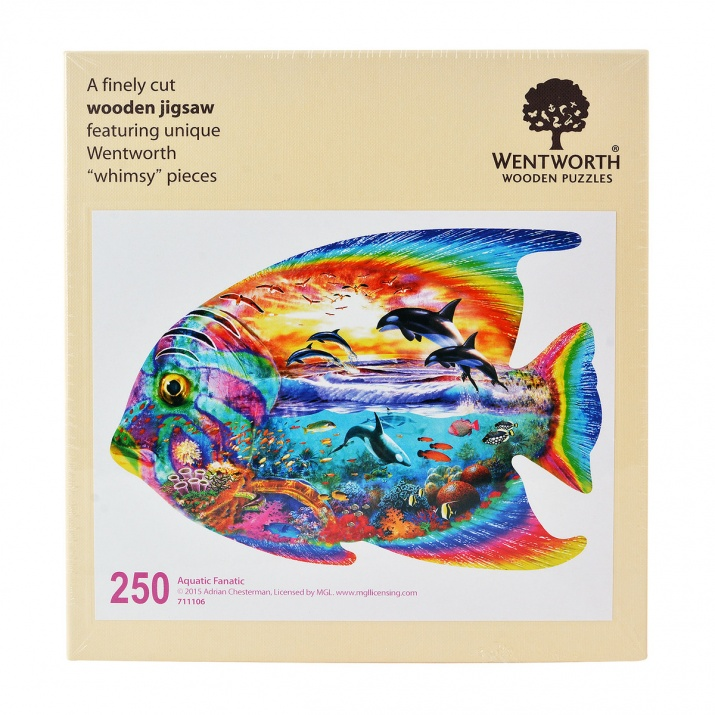Пъзел художествен WENTWORTH, Aquatic Fanatic, 250 части