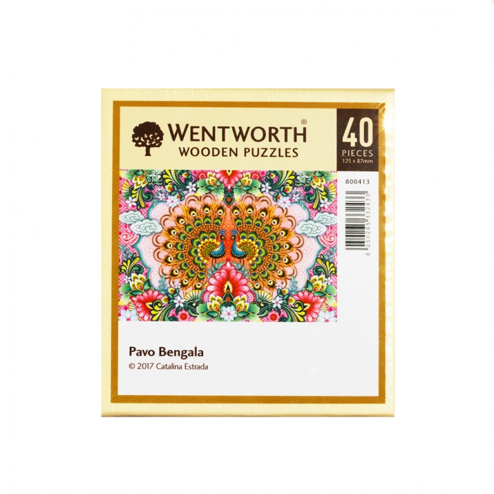 Пъзел художествен WENTWORTH, Pavo Bengala,40 части
