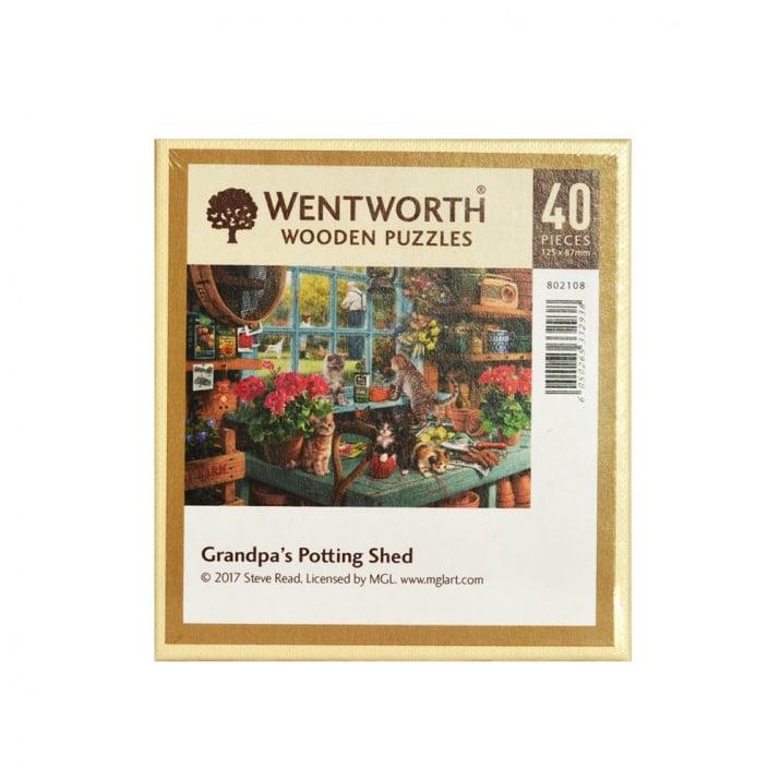 Пъзел художествен WENTWORTH, Potting Shed,40 части