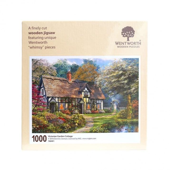 Пъзел художествен WENTWORTH,Victorian garden,1000 части