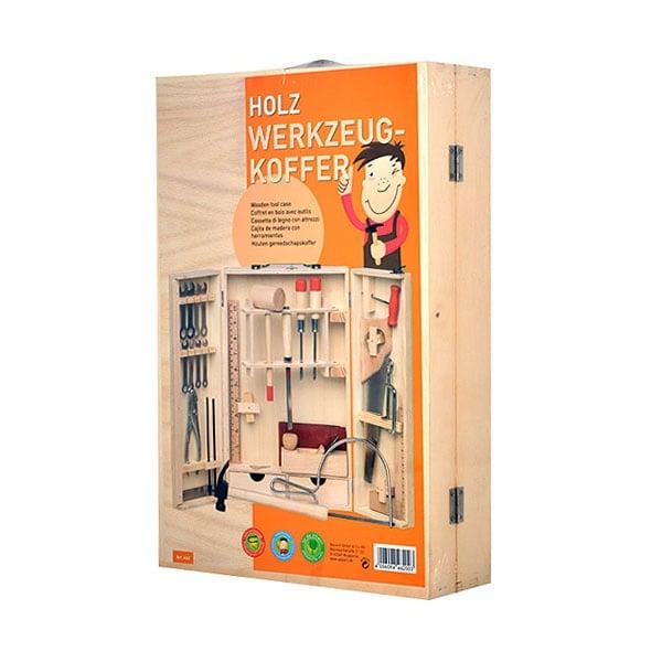 Комплект инструменти за начинаещи дърводелци