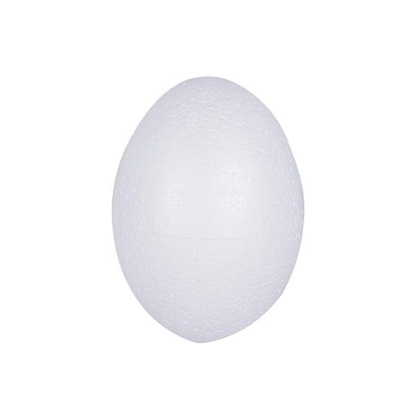 Яйце от стиропор, бял, H 120 mm