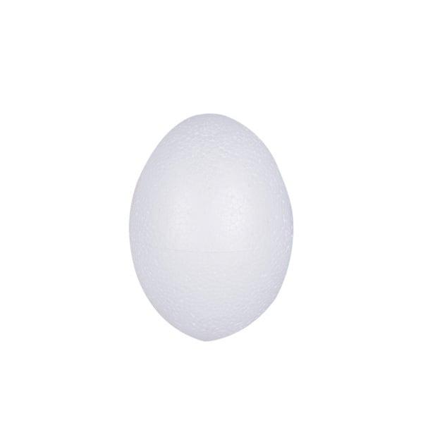 Яйце от стиропор, бял, H 45 mm