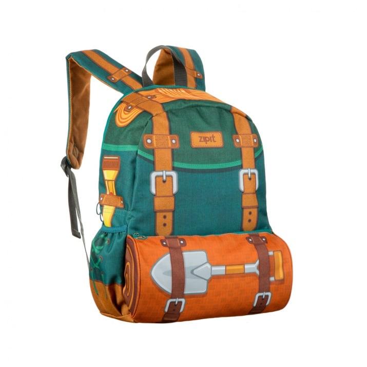 Раница Adventure, 34x20x42.5cm, зелена