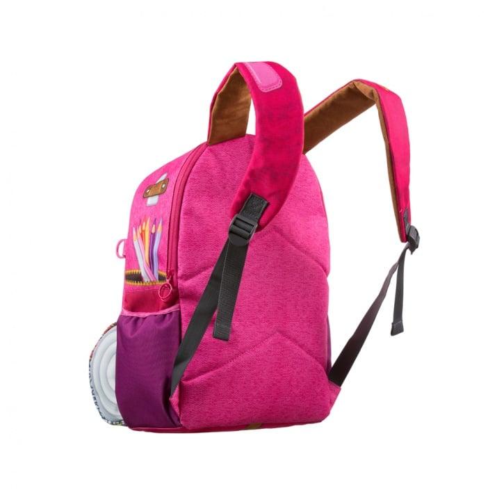 Раница Adventure, 34x20x42.5cm, розова
