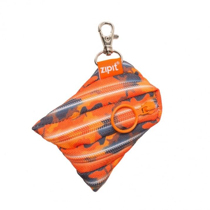 Несесер с ключодържател Camo, оранжев камуфлаж