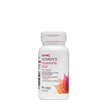 ХИАЛУРОНОВА КИСЕЛИНА за нормалното хидратиране на кожата и ставите 150 мг.* 30капсули,  GNC